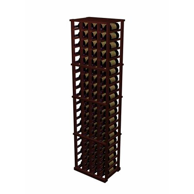 Wine Cellar Innovations Designer Series 80 Bottle 4 Column Individual Wine Rack