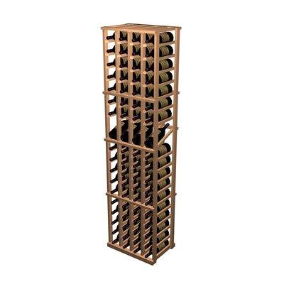 Designer Series 76 Bottle 4 Column Individual with Display Wine Rack