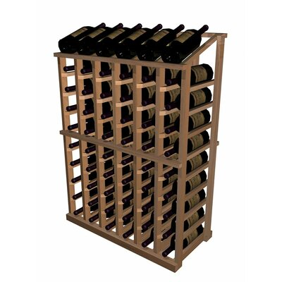 Wine Cellar Innovations Designer Series 66 Bottle Half Height with Display Wine Rack