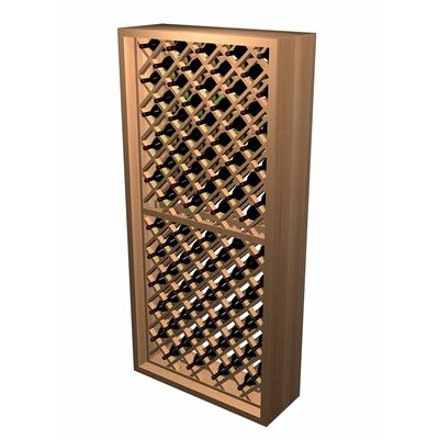 Wine Cellar Innovations Designer Series 90 Bottle Individual Diamond Bin Wine Rack