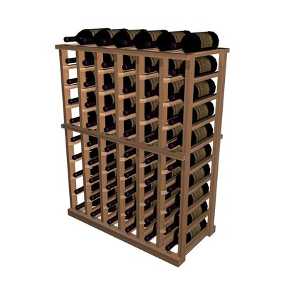 Wine Cellar Innovations Designer Series 60 Bottle Half Height Wine Rack