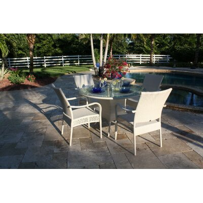 Hospitality Rattan Grenada Patio 5 Piece Dining Set
