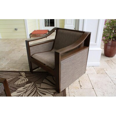 Hospitality Rattan Venetian Sling Patio Lounge Chair