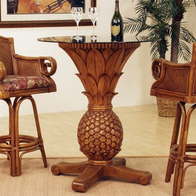 Sunset Reef Rattan Pineapple Pub Table
