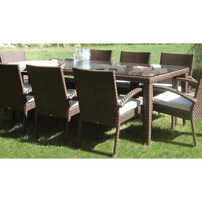 Soho Patio Large Rectangular Dining Table