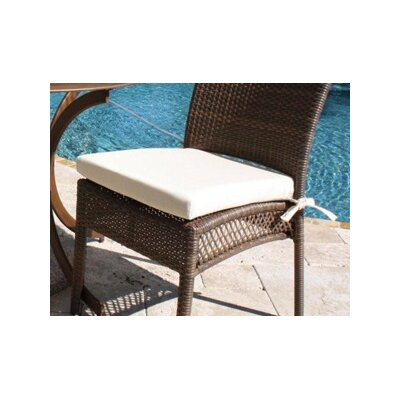 Hospitality Rattan Grenada Patio Dining Side Chair Cushion