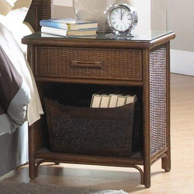 Padre Island 1 Drawer Nightstand