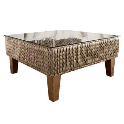 Hospitality rattan wayfair for Seagrass coffee table