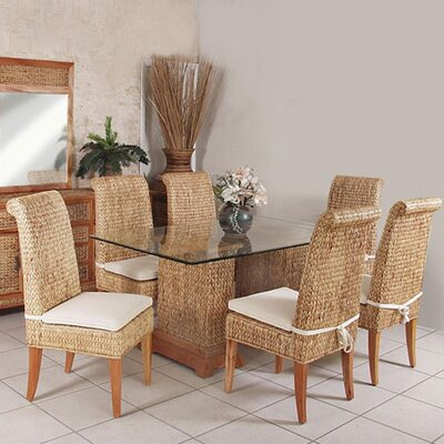 Hospitality Rattan Sea Breeze 7 Piece Dining Set