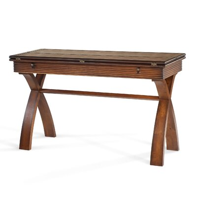 Magnussen Furniture Bali Flip Top Console Table