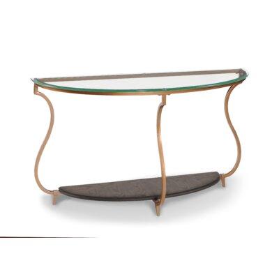 Rachel Demilune Console Table