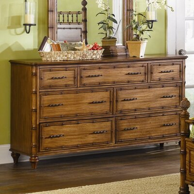 Magnussen Furniture Palm Bay 7 Drawer Dresser