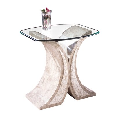 Magnussen Furniture Albany Glass Coffee Table Set