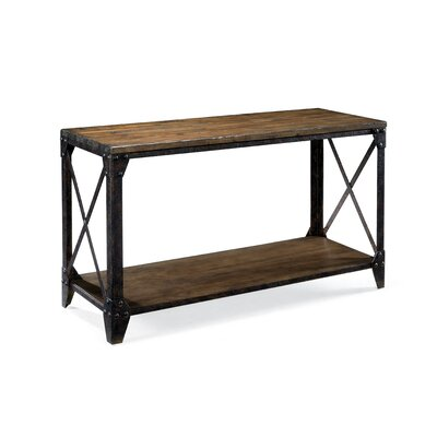 Metal Console Table : Rustic Metal Console Table  Wayfair