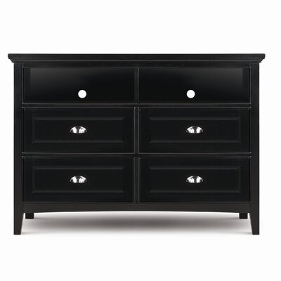 Magnussen Furniture Bennett 4 Drawer Media Dresser