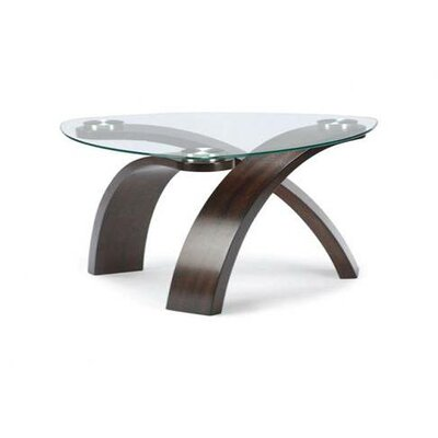 Magnussen allure coffee table reviews wayfair Pie shaped coffee table