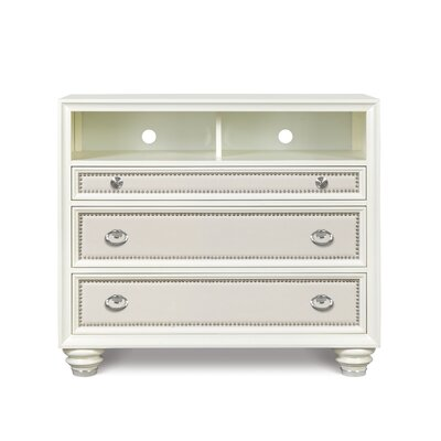 Magnussen Furniture Diamond 3 Drawer Media Chest