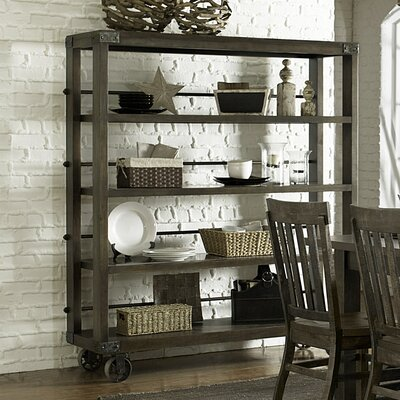 Magnussen Karlin Kitchen Cart with Wood Top