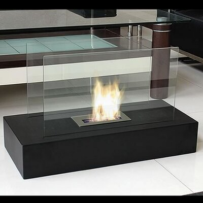 Bluworld Fiamme Freestanding Bio Ethanol Fuel Fireplace