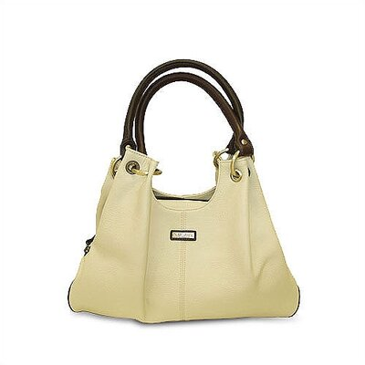 Rioni Virtue Casual Carrier in Cream with Chocolate