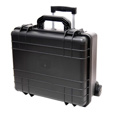 7 Bottle Wheeled Wine Transport Case