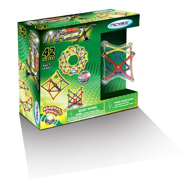 42 Pieces Magz-X Educational Magnetic Building Set