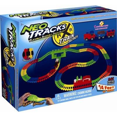 Mindscope Neo Tracks Train Set Toy