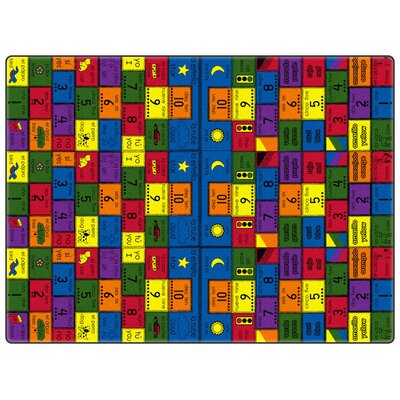 Flagship Carpets Educational Amigos Kids Rug