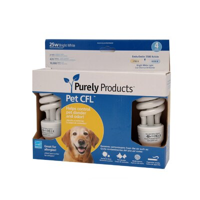 Purely Products Pet CFL - 7 Watt Bulb - 25 Watt Equivalent