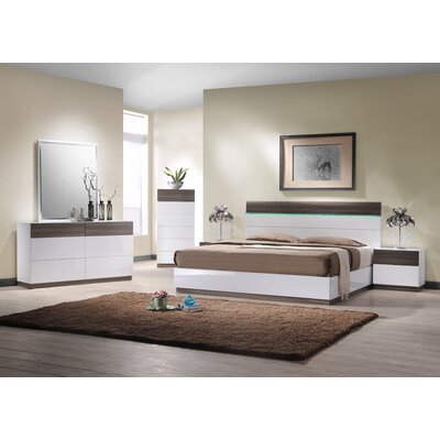 Sanremo B Platform Bedroom Collection