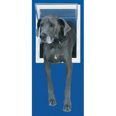 Perfect Pet by Ideal Extra Large White Aluminum Pet Door