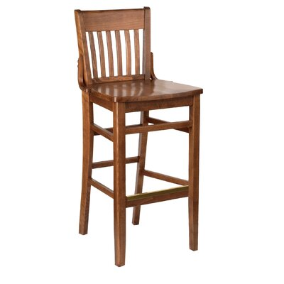 Henry Walnut Bar Stool (24
