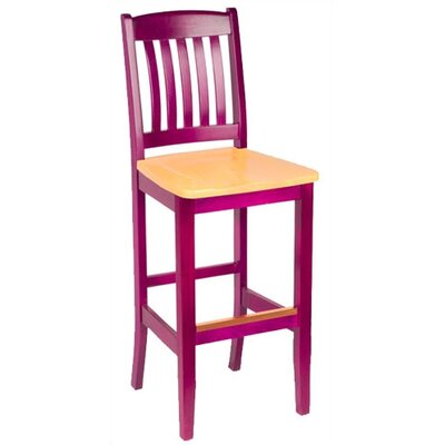 Bulldog Two-Tone Custom Bar Stool (24