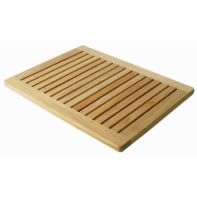 Infinita Corporation Le Spa Rectangular Floor Mat with Rounded Corners in Natural