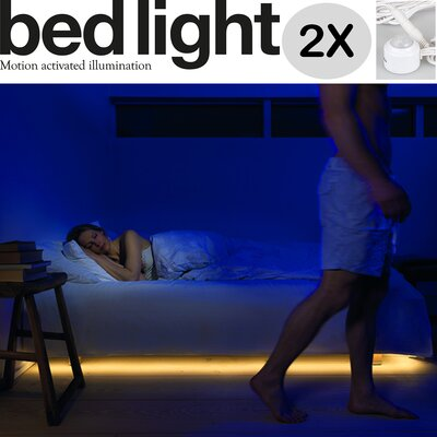 Infinita Corporation Mylight.Me LED Ambient Bedlight Kit (Pack of 2)