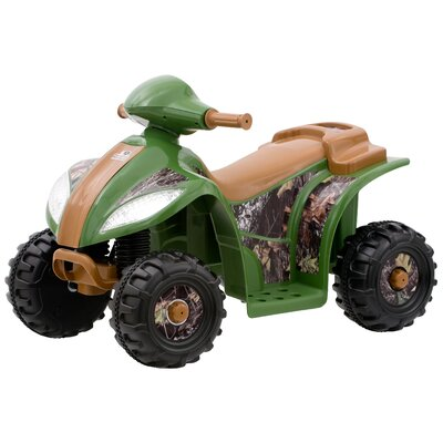 Kid Trax Mossy Oak 6V Quad Electric Ride On