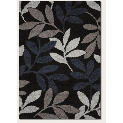 Couristan Moonwalk Lunar Garden Black Rug