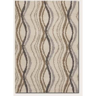 Couristan Moonwalk Pulsation Cream Rug