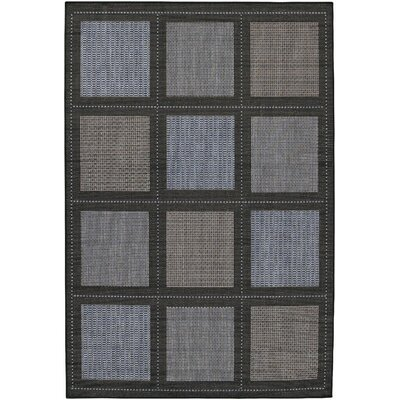 Couristan Recife Summit Blue/Black Rug
