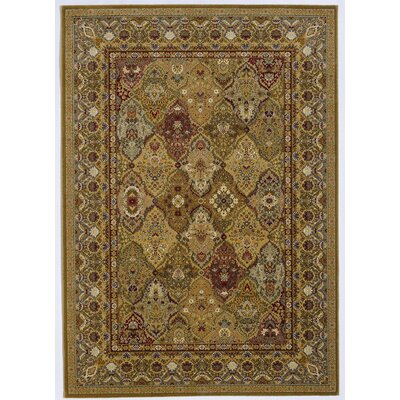 Royal Kashimar Persian Panel Hazelnut Rug