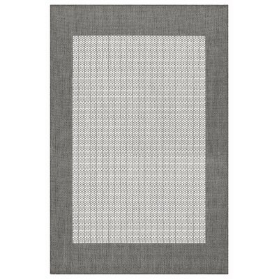 Recife Checkered Field Grey/White Rug