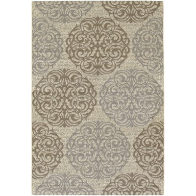 Couristan Five Seasons Cream/Sky Blue Montecito Rug