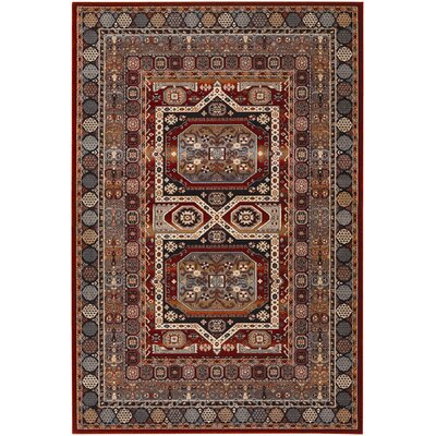 Couristan Timeless Treasures Burgundy Maharaja Rug