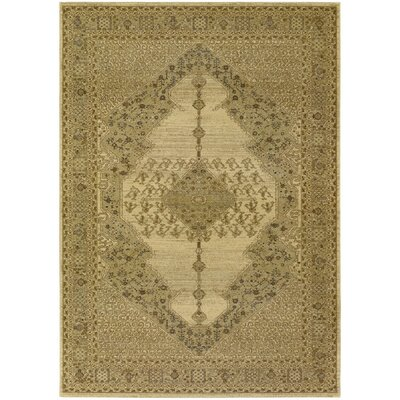 Timeless Treasures Antique Cream Diamond Sarouk Rug