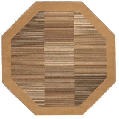 Couristan Everest Hamptons/Sahara Tan Square Rug