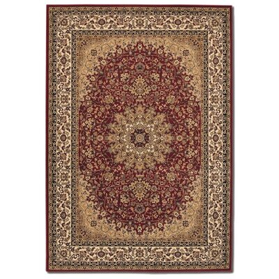 Izmir Royal Kashan Persian Red Rug