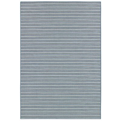 Couristan Berkshire Potomac Blue Indoor/Outdoor Rug