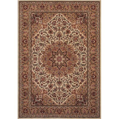 Shaw Rugs Inspired Design Antique Manor Beige Rug