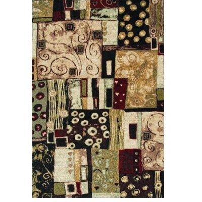Modern Elements Modern Art Multi Rug