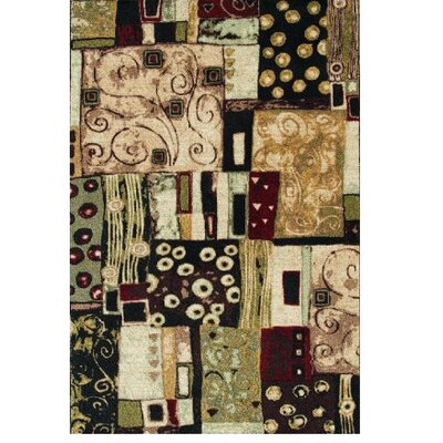 Shaw Rugs Modern Elements Modern Art Multi Rug